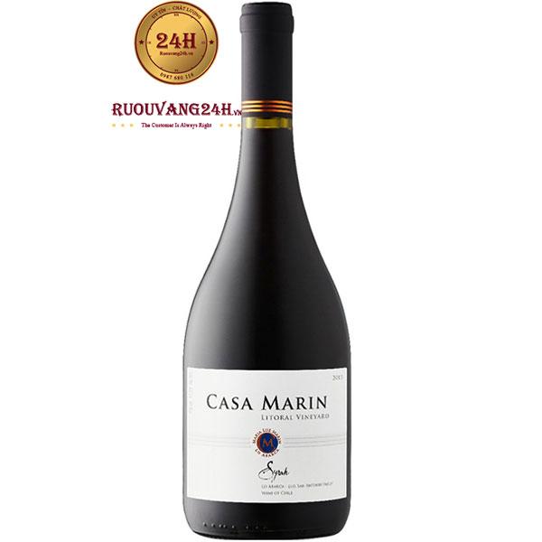 Rượu Vang Casa Marin Syrah