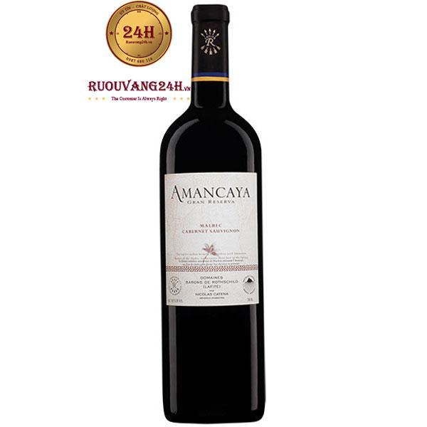 Rượu Vang Catena Rothschild Amancaya Gran Reserva