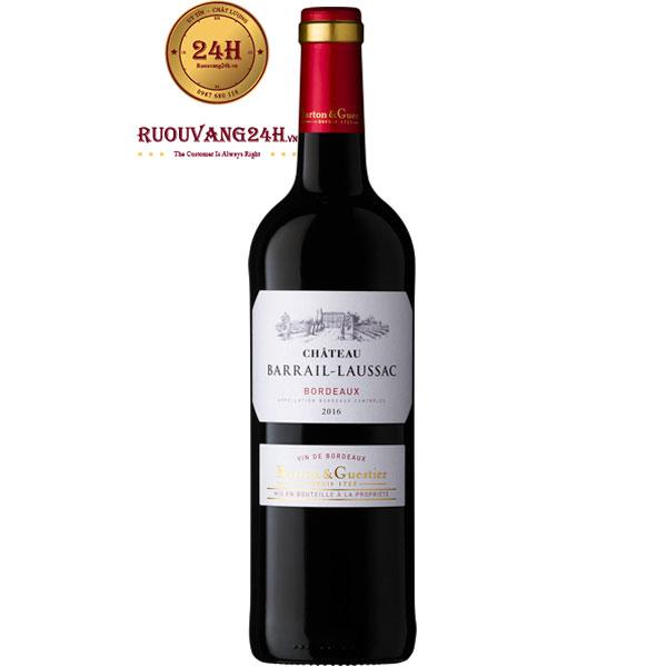 Rượu Vang Chateau Barrail Laussac