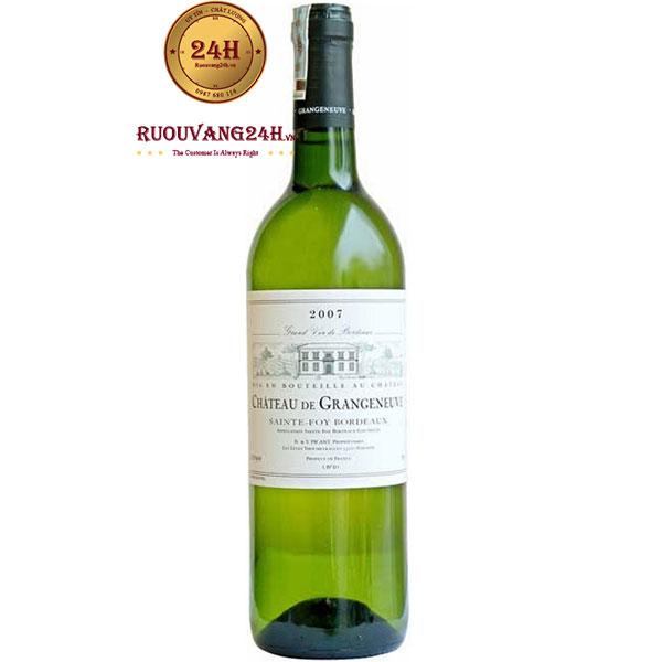 Rượu Vang Chateau De Grangeneuve White