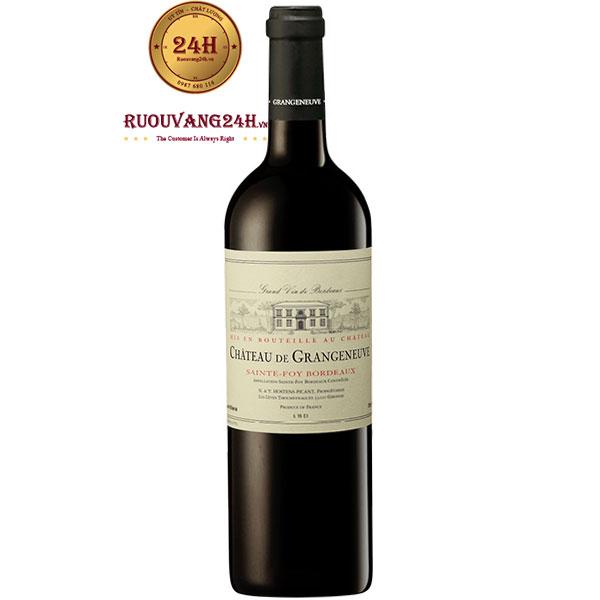 Rượu Vang Chateau De Grangeneuve