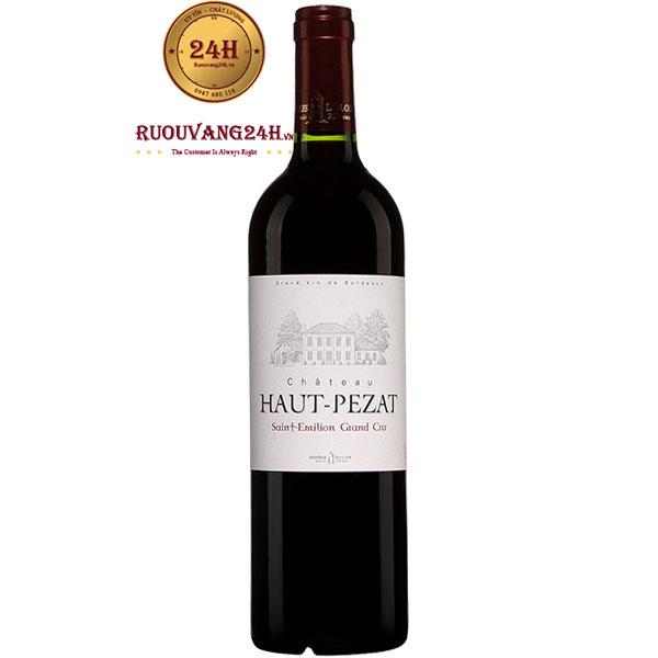 Rượu Vang Chateau Haut Pezat