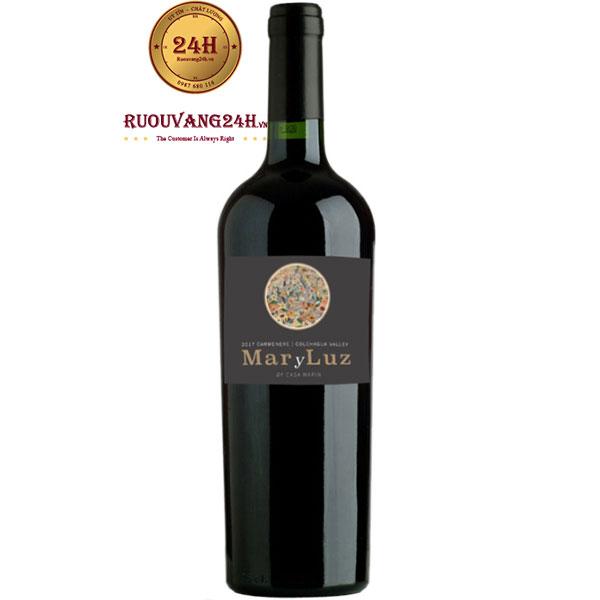 Rượu Vang Chile Mar Y Luz Carmenere