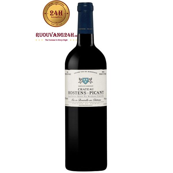 Rượu Vang Đỏ Chateau Hostens Picant