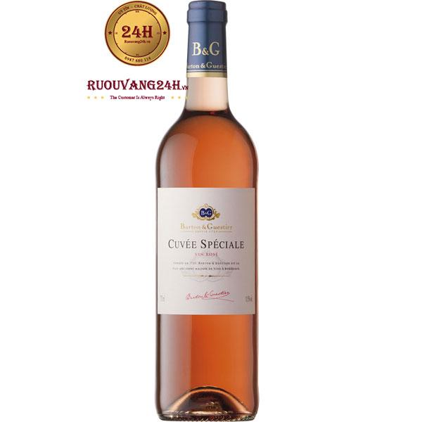 Rượu Vang Hồng Cuvee Speciale Barton & Guestier