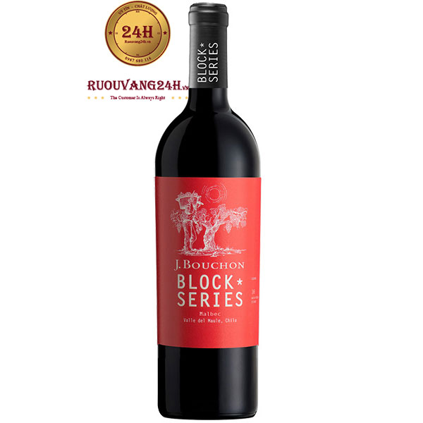 Rượu Vang J.Bouchon Block Series Malbec