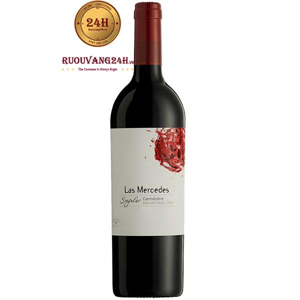 Rượu Vang J.Bouchon Las Mercedes Singular Carmenere