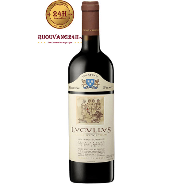 Rượu Vang Lvcvllvs Cuvee D'Exception