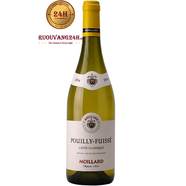 Rượu Vang Moillard Pouilly Fuisse