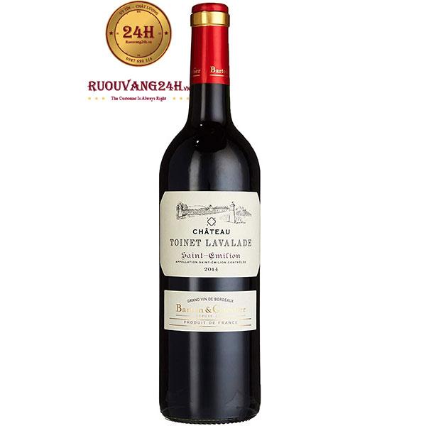 Rượu Vang Pháp Chateau Toinet Lavalade