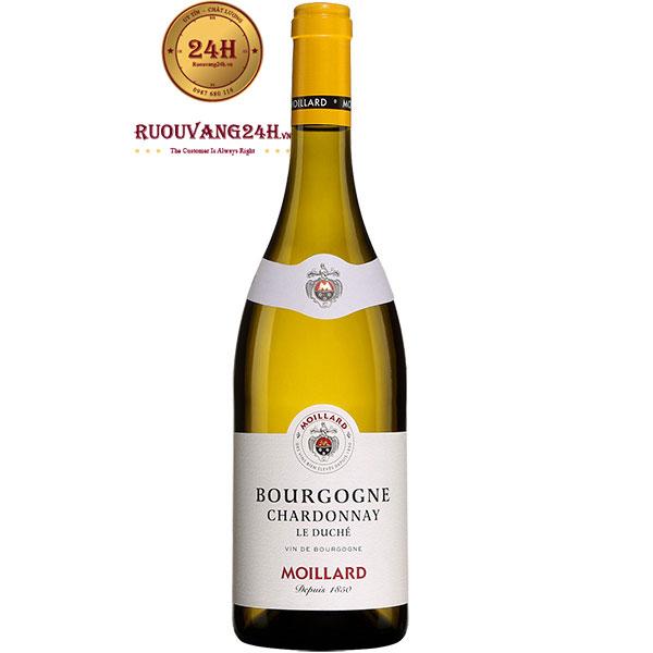 Rượu Vang Pháp Moillard Bourgogne Chardonnay