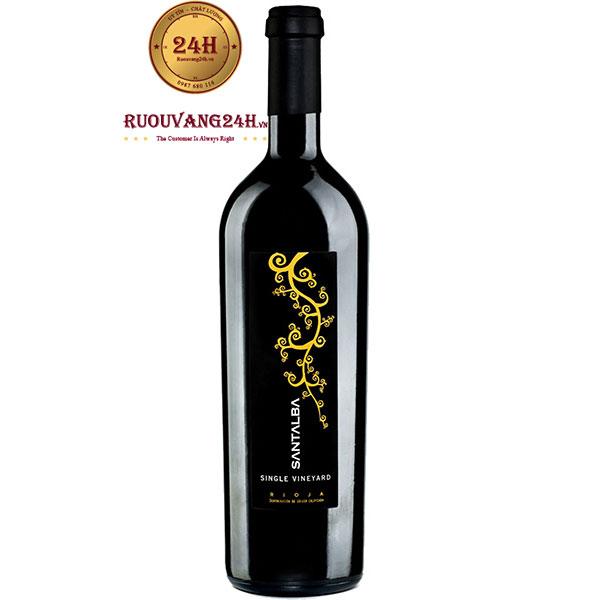 Rượu Vang Santalba Single Vineyard