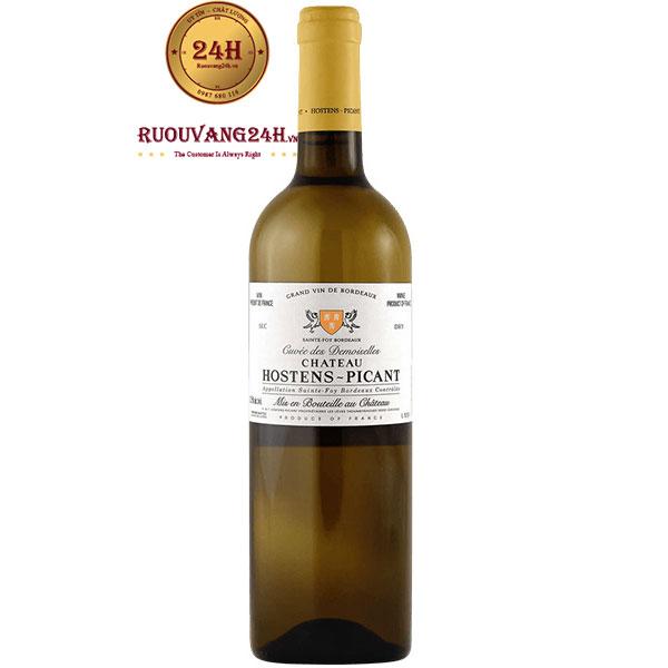 Rượu Vang Trắng Chateau Hostens Picant