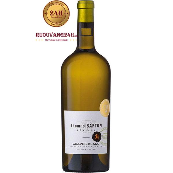 Rượu Vang Trắng Thomas Barton Reserve Graves Blanc