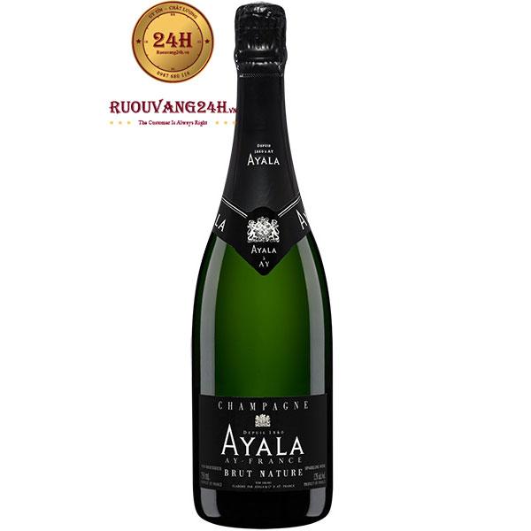 Rượu Champagne Ayala Brut Nature