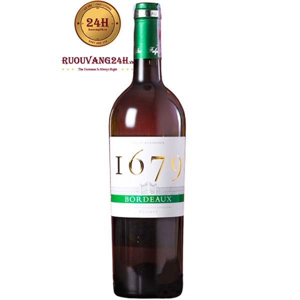 Rượu Vang 1679 Bordeaux Blanc
