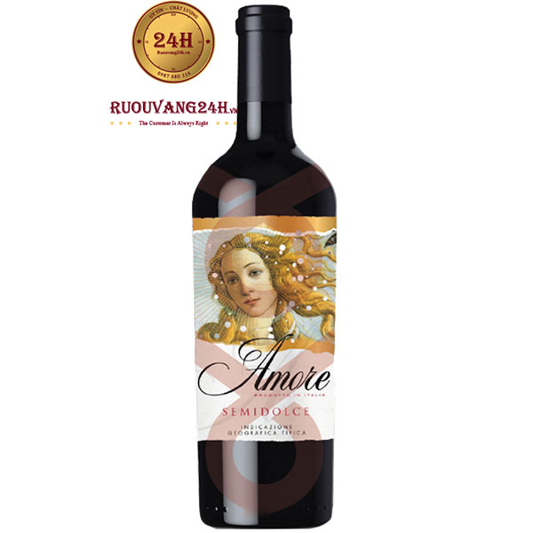 Rượu Vang Amore Semidolce