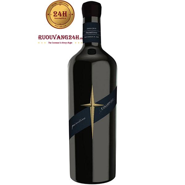 Rượu Vang CF Collefrisio Primitivo