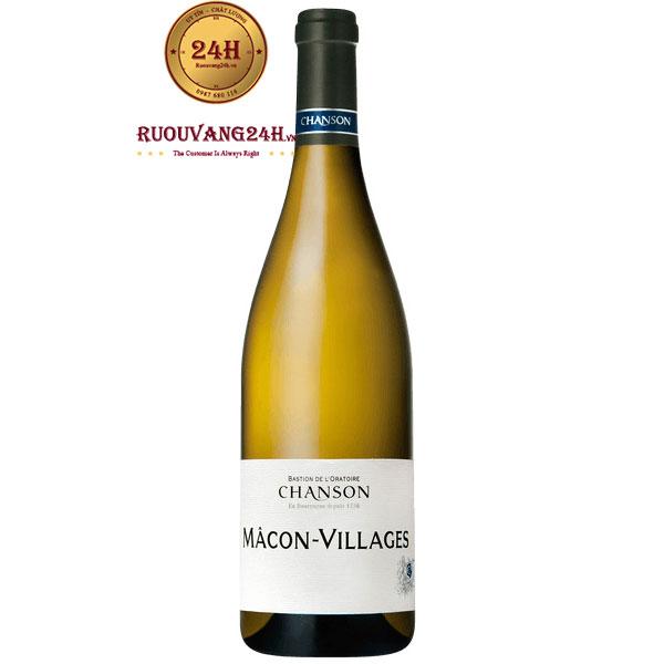 Rượu Vang Chanson Macon Villages