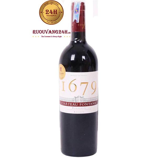 Rượu Vang Chateau Fontana 1679