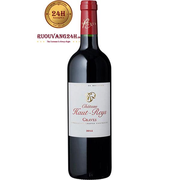 Rượu Vang Chateau Haut Reys Graves