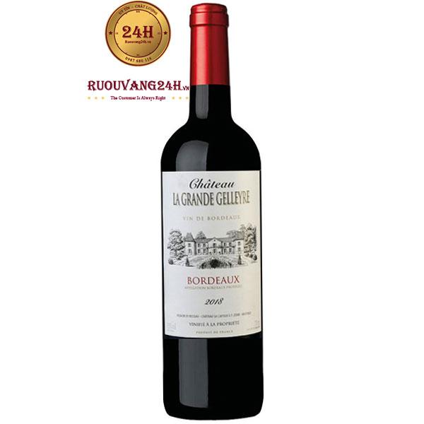 Rượu Vang Chateau La Grande Gelleyre Bordeaux