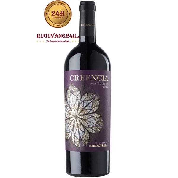 Rượu Vang Creencia Con Actitud Monastrell