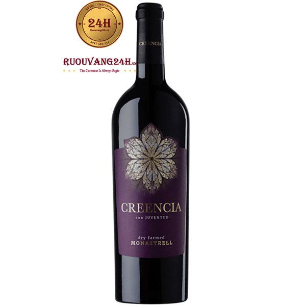 Rượu Vang Creencia Con Juventud Monastrell