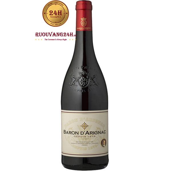 Rượu Vang Đỏ Baron D'Arignac