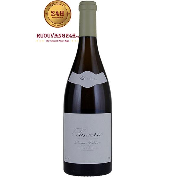 Rượu Vang Domain Vacheron Sancerre Chambrates
