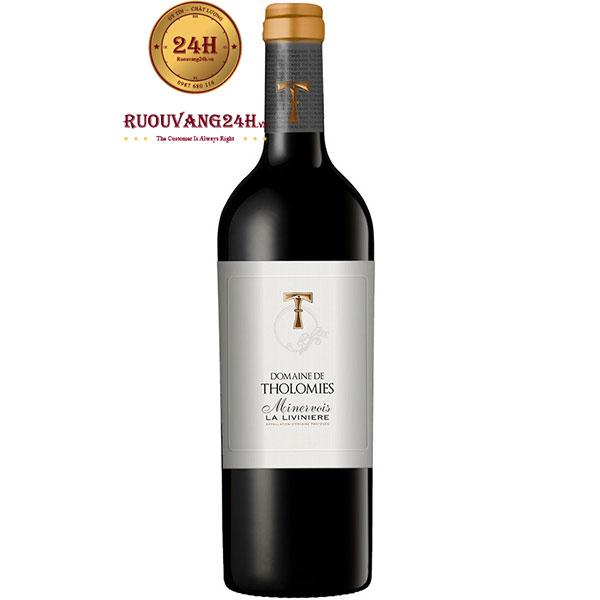 Rượu Vang Domaine De Tholomies Minervois La Liviniere
