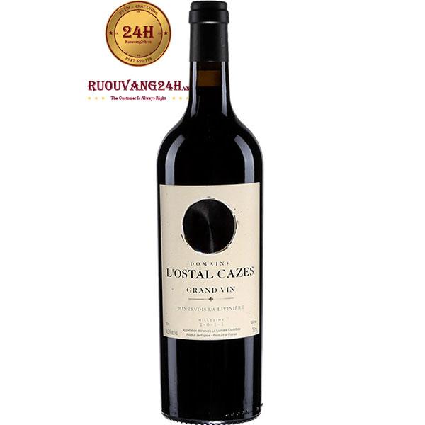 Rượu Vang Domaine L'Ostal Cazes Grand Vin Minervois La Liviniere
