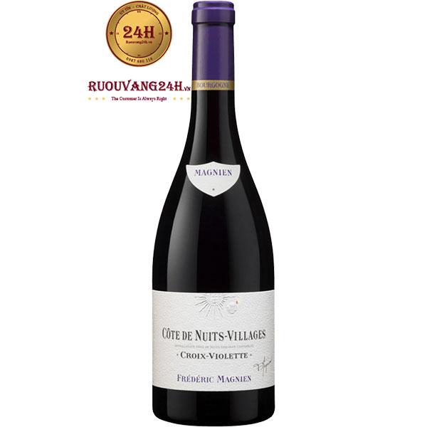 Rượu Vang Frederic Magnien Côtes De Nuit Villages Croix Violette