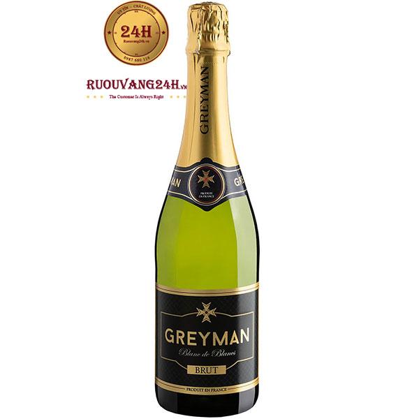 Rượu Vang Greyman Blanc De Blancs