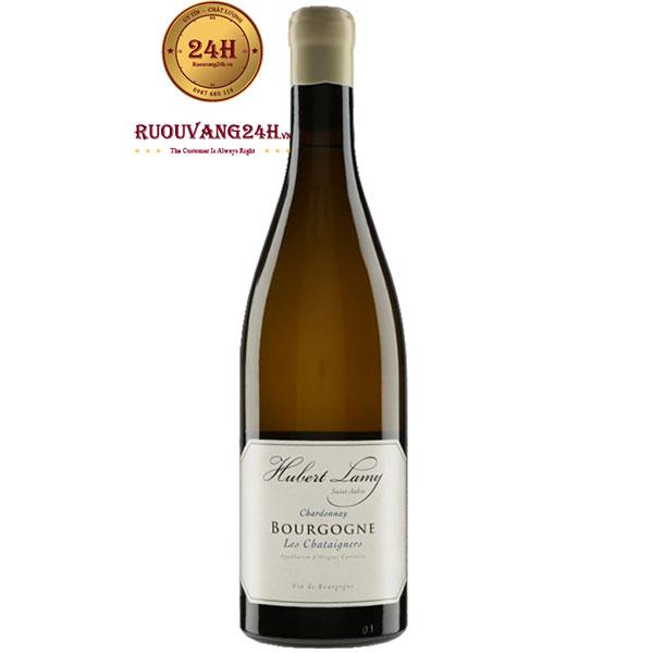 Rượu Vang Hubert Lamy Bourgogne Les Chataigniers Chardonnay