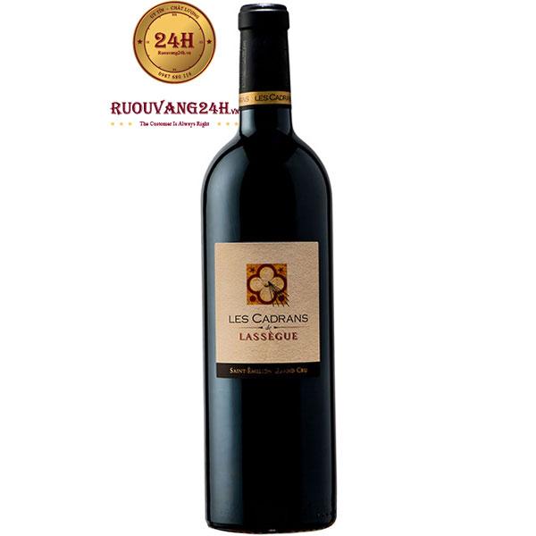 Rượu Vang Les Cadrans De Lassegue
