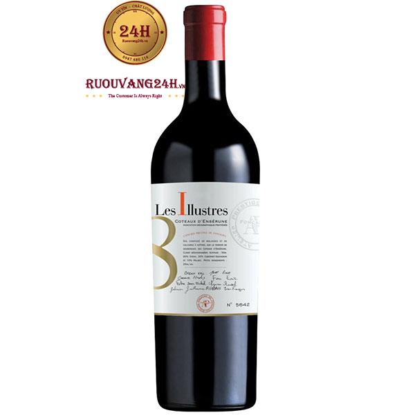 Rượu Vang Les ILLUSTRES 8