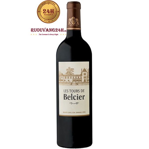 Rượu Vang Les Tours De Belcier
