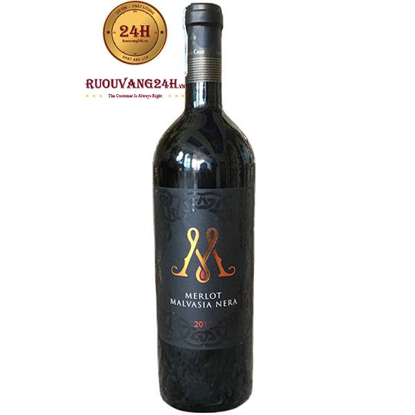 Rượu Vang M Merlot – Malvasia Nera