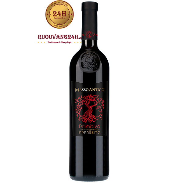 Rượu Vang Masso Antico Primitivo Appassito