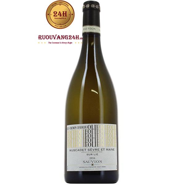 Rượu Vang Muscadet Sevre Et Maine Chemin D'Eolie Sauvion