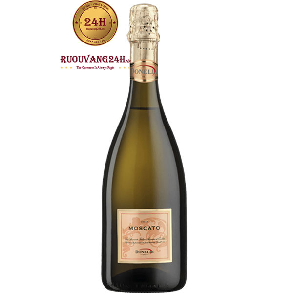 Rượu Vang Nổ Donelli Moscato