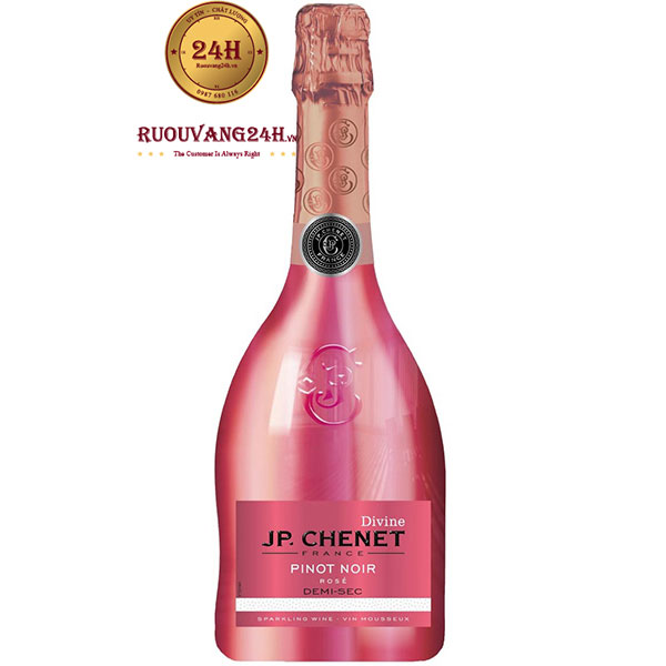 Rượu Vang Nổ JP Chenet Divine Pinot Noir Rose