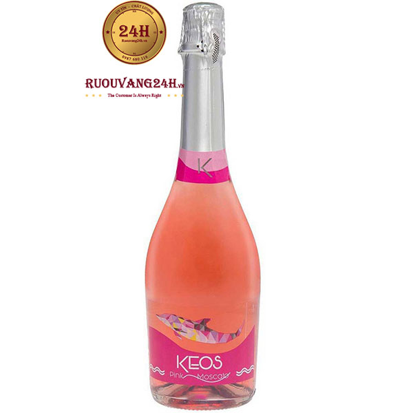 Rượu Vang Nổ Keos Pink Moscato