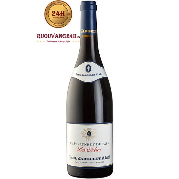 Rượu Vang Paul Jaboulet Aine Chateauneuf Du Pape Les Cedres