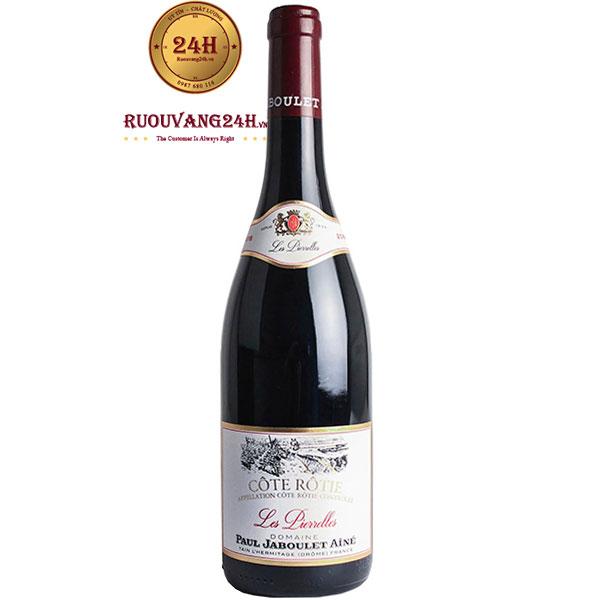 Rượu Vang Paul Jaboulet Aine Côte Rôtie Les Pierrelles