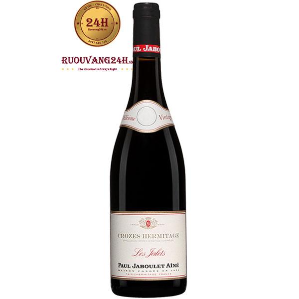 Rượu Vang Paul Jaboulet Ainé Crozes Hermitage Les Jalets