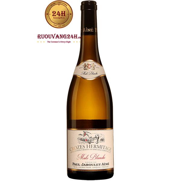 Rượu Vang Paul Jaboulet Aine Crozes Hermitage Mule Blanche