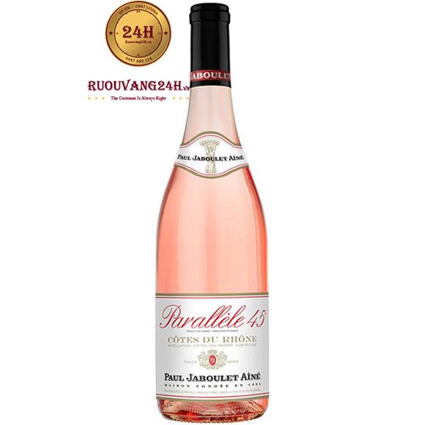 Rượu Vang Paul Jaboulet Aine Parallele 45 Rose