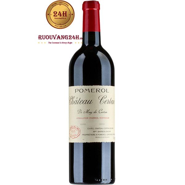 Rượu Vang Pháp Chateau Certan De May Pomerol